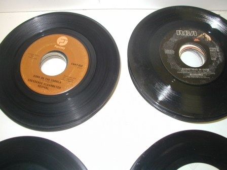 45 RPM Records (Lot Of 100) Pulled From Jukeboxes) (Item #39) (Image #3)