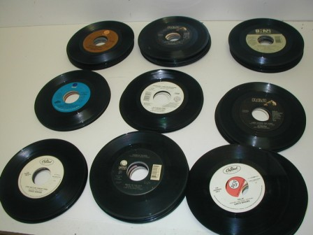 45 RPM Records (Lot Of 100) Pulled From Jukeboxes) (Item #39) (Image #6)