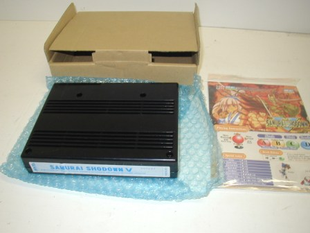 Samurai Shodwon 5 Neo Geo Cartridge (item #1) (New In Box) $224.99